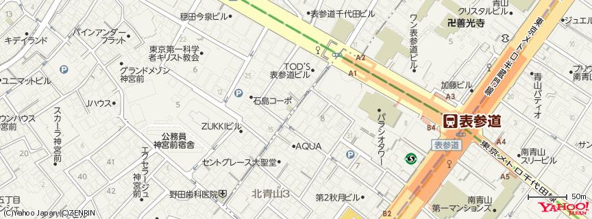 クレヨンハウス 東京店 地図