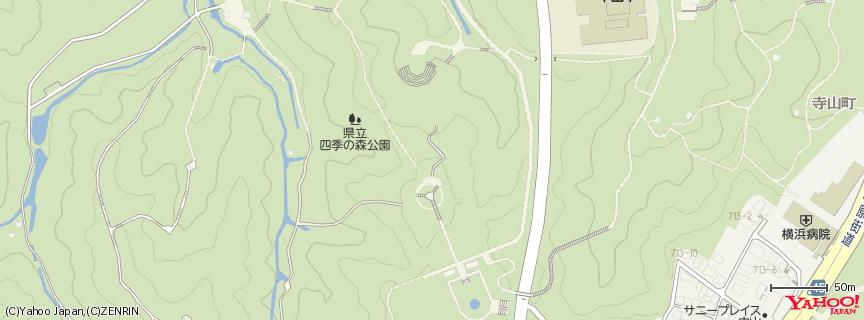 四季の森公園 地図