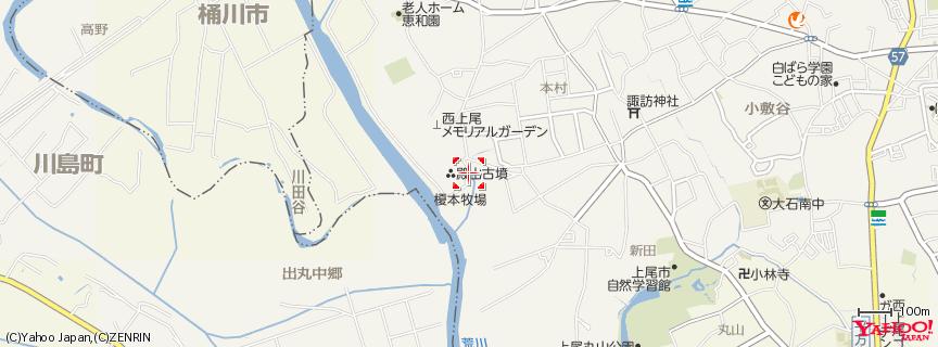 榎本牧場 地図
