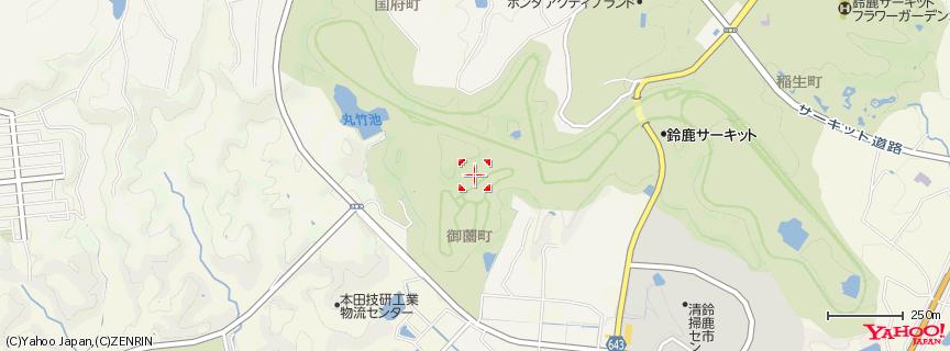 鈴鹿サーキット 地図