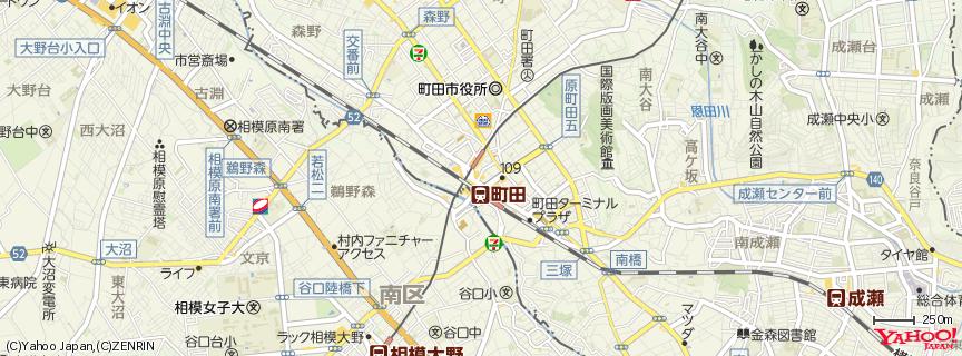町田駅 地図