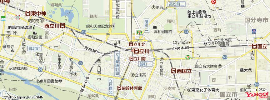 立川駅 地図