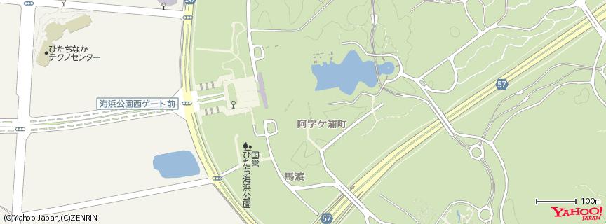 国営ひたち海浜公園 地図
