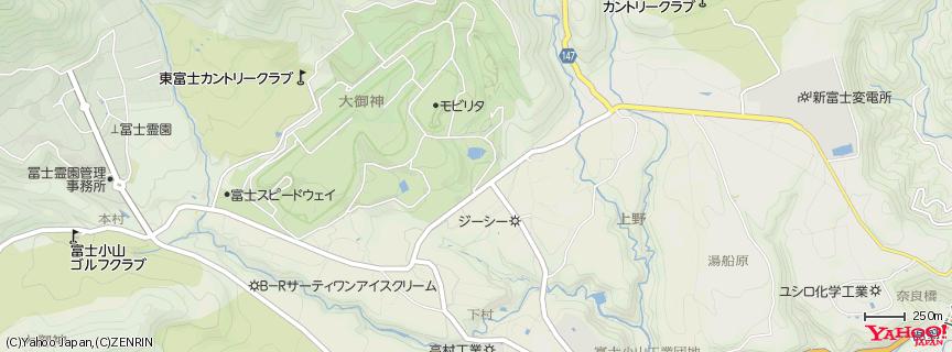 富士スピードウェイ 地図