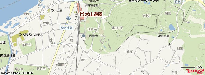 犬山成田山(大本山成田山名古屋別院大聖寺) 地図