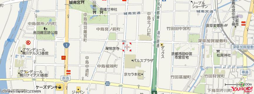 京都パルスプラザ 地図