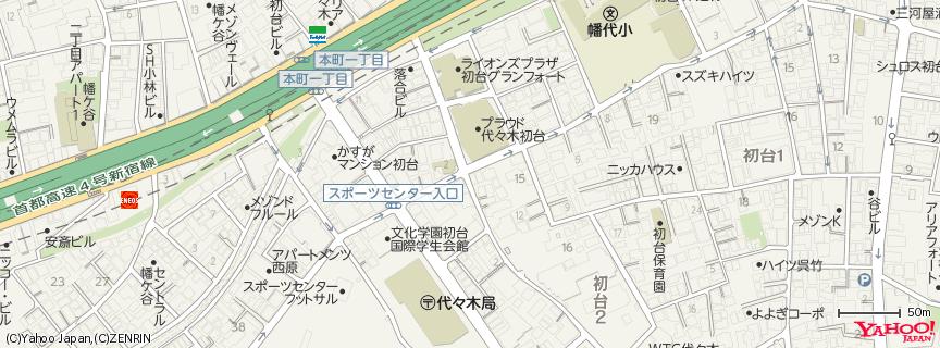 代々木公園 地図