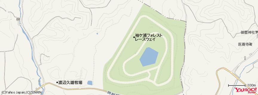 袖ヶ浦フォレストレースウェイ 地図
