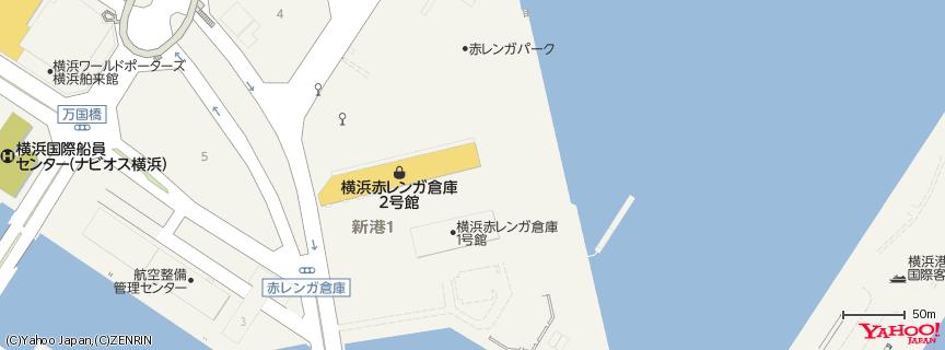 bills 赤レンガ倉庫店 地図