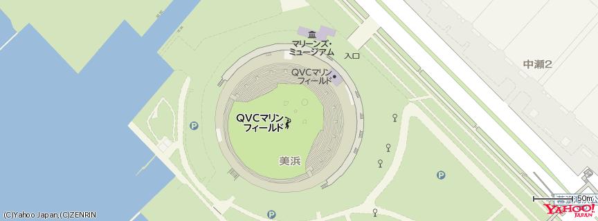 ZOZOマリンスタジアム 地図