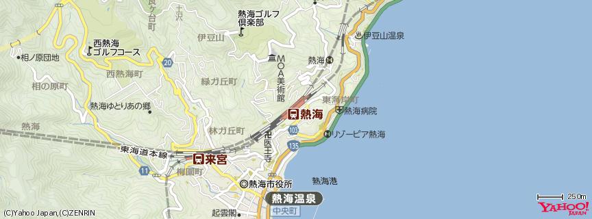 熱海駅 地図