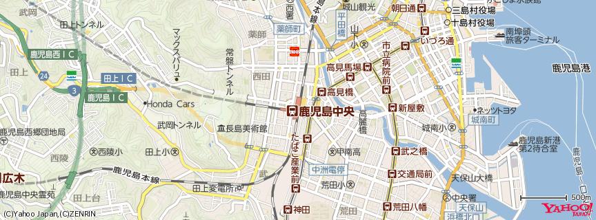 鹿児島中央駅 地図