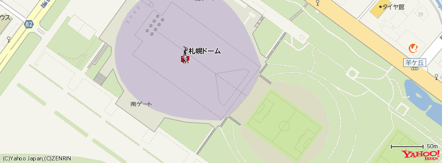 札幌ドーム 地図