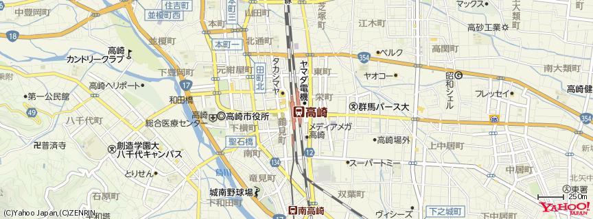 高崎駅 地図