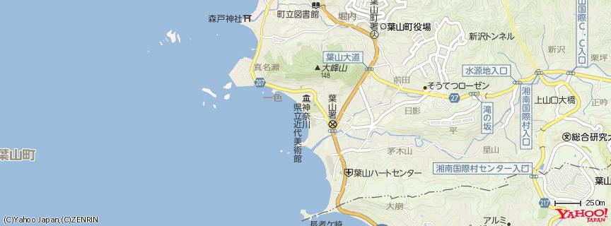 一色海岸 地図