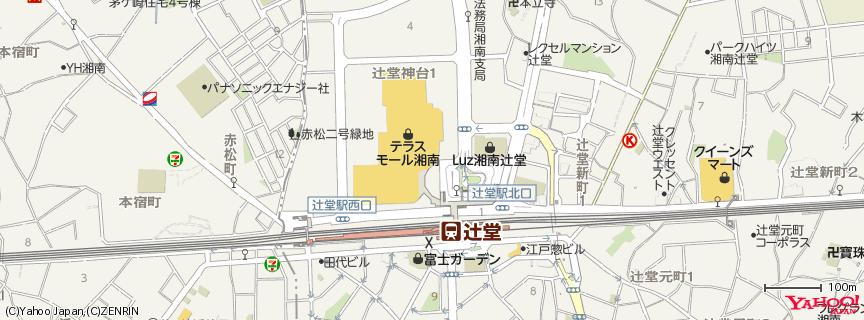 Terrace Mall Shonan テラスモール湘南 地図