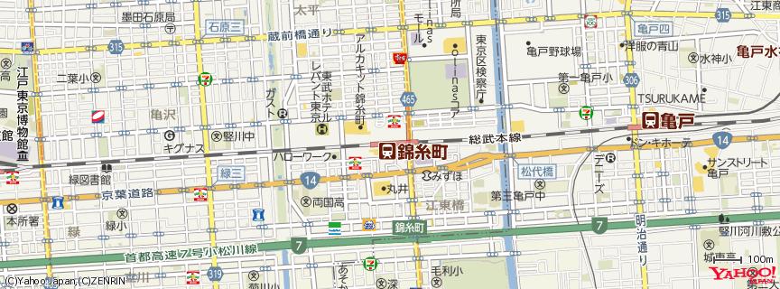 錦糸町駅 地図