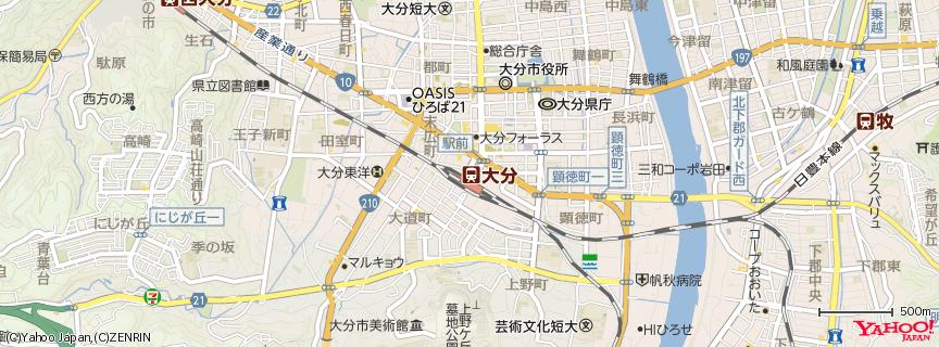大分駅 地図