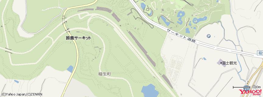 鈴鹿サーキット国際レーシングコース 地図