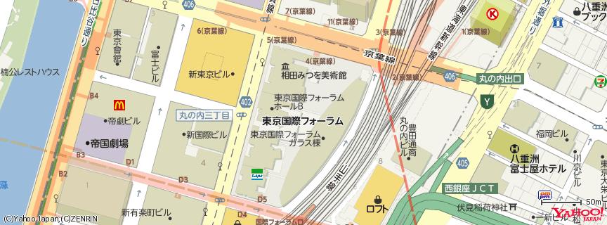 東京国際フォーラム 地図
