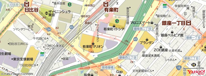 ルミネ 有楽町店 地図