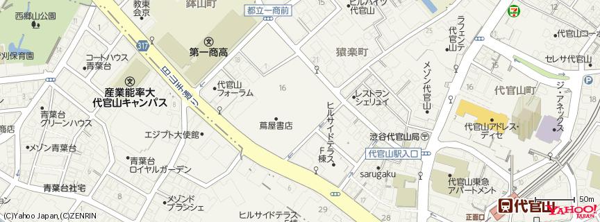 Ivy Place 地図