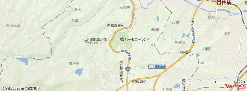 サンリオキャラクターパーク ハーモニーランド 地図